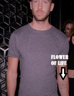 Calvin Harris Parties At Hakkasan Nightclub